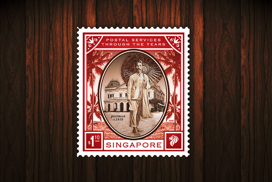 Postal Services of the Years - 1st Local stamp