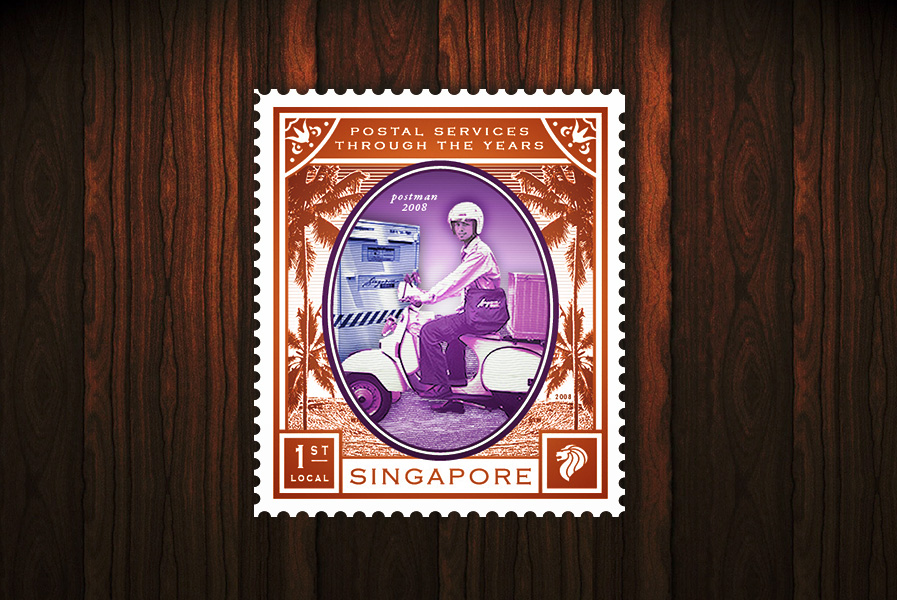 Postal Services of the Years - $1.10 stamp
