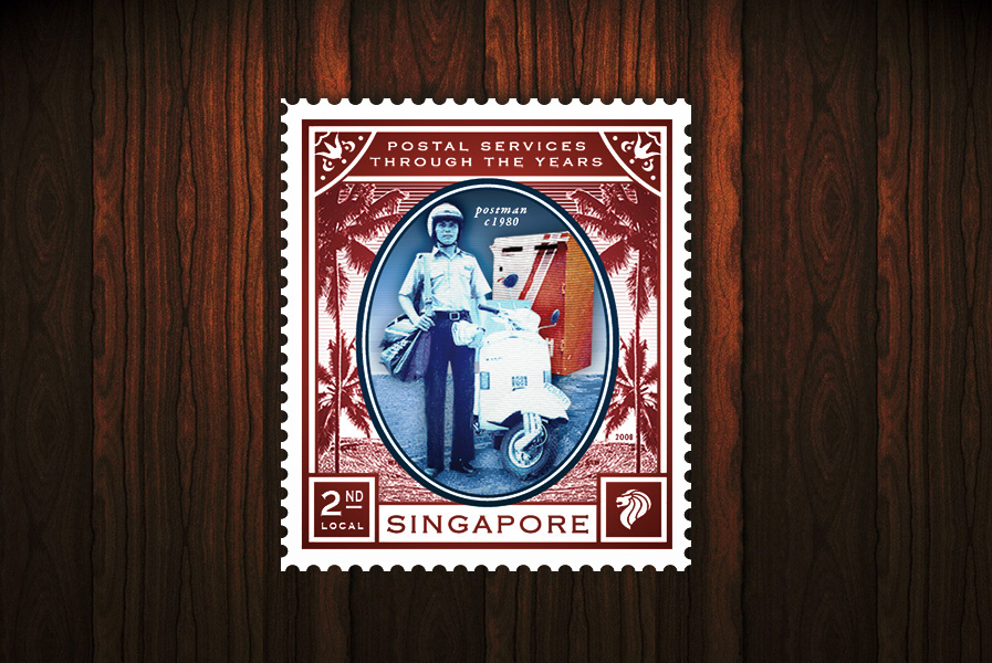 Postal Services of the Years - 2nd Local stamp