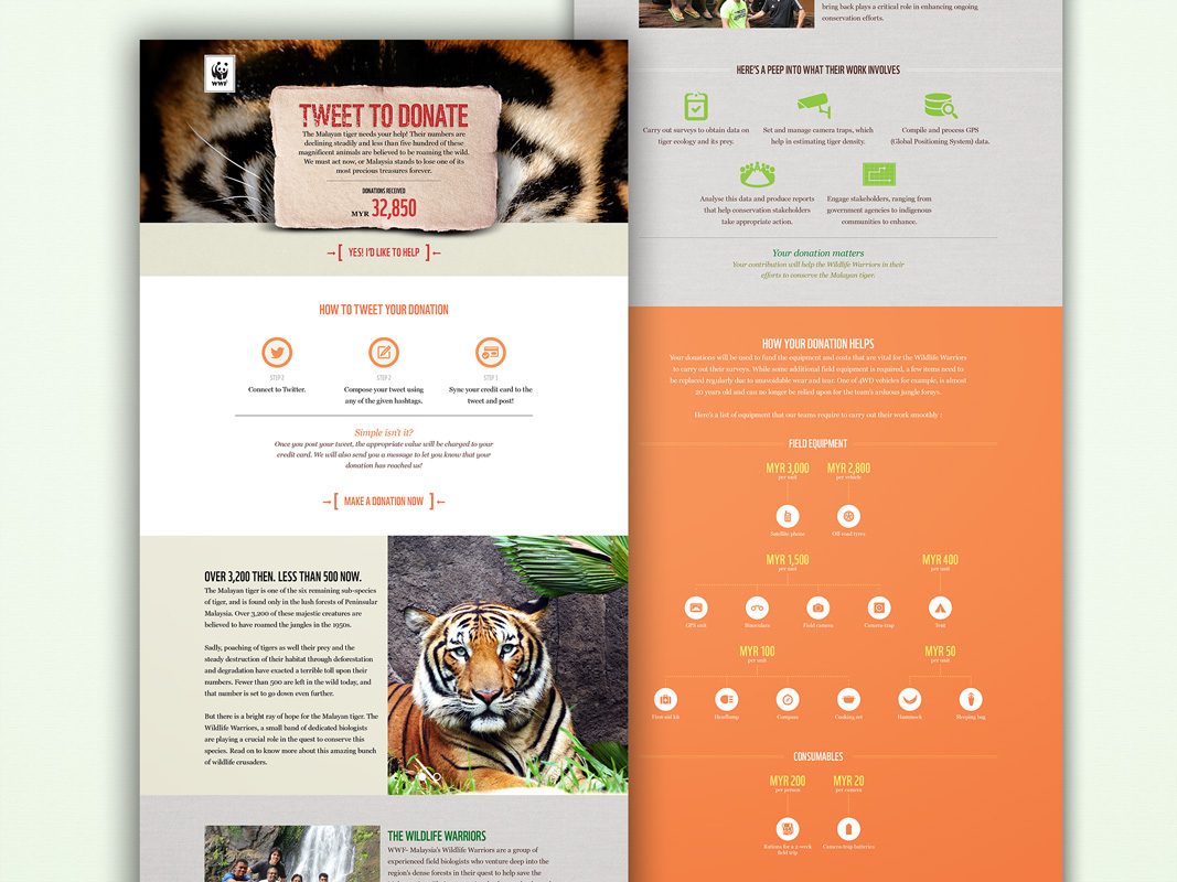WWF – Save The Tigers